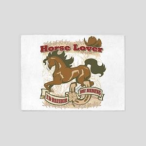 Horse Lover 5'x7'Area Rug