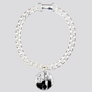 bowl80light Charm Bracelet, One Charm