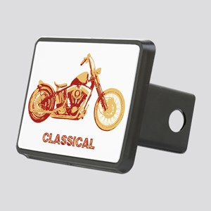 bobber1a-red-T Rectangular Hitch Cover