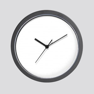 Reenacting Signs White Wall Clock