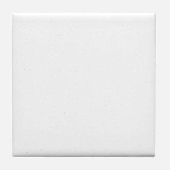 Reenacting Signs White Tile Coaster
