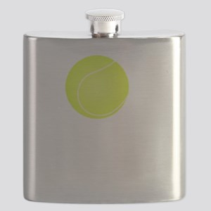 Tennis Court White Flask