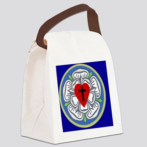 Luther Seal 2 License Plate Canvas Lunch Bag