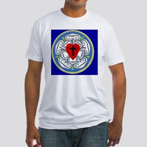 Luther Seal 2 License Plate Fitted T-Shirt