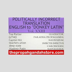 'Donkey Latin' Vol. 23 Magnets