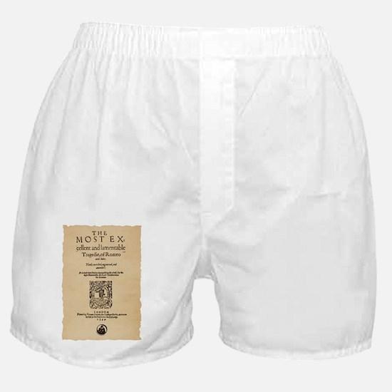 romeoandjuliet-1599-poster-tshirt Boxer Shorts