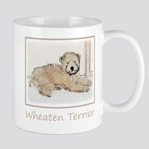 Wheaten Terrier Puppy 11 oz Ceramic Mug