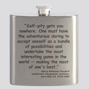 Fosdick Best Quote Flask