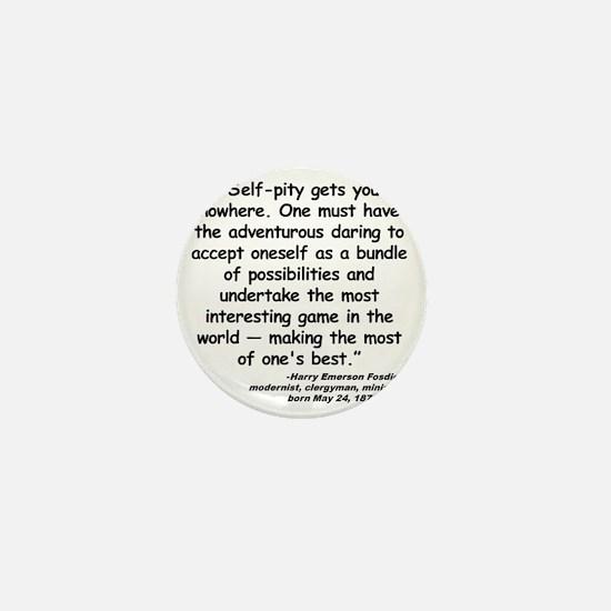 Fosdick Best Quote Mini Button