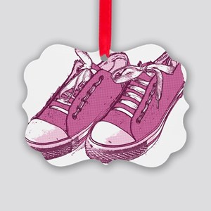 sneaker_pink10x7 Picture Ornament
