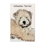 Wheaten Terrier Puppy Mini Poster Print