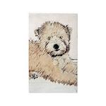 Wheaten Terrier Puppy Area Rug