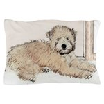 Wheaten Terrier Puppy Pillow Case