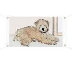 Wheaten Terrier Puppy Banner
