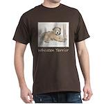 Wheaten Terrier Puppy Dark T-Shirt