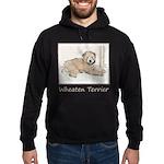 Wheaten Terrier Puppy Hoodie (dark)