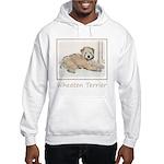 Wheaten Terrier Puppy Hooded Sweatshirt