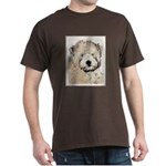 Wheaten Terrier Puppy Dark T-Shirt