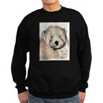 Wheaten Terrier Puppy Sweatshirt (dark)