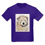 Wheaten Terrier Puppy Kids Dark T-Shirt