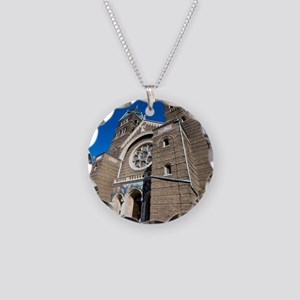 1DS3-4759-NOTECARD Necklace Circle Charm