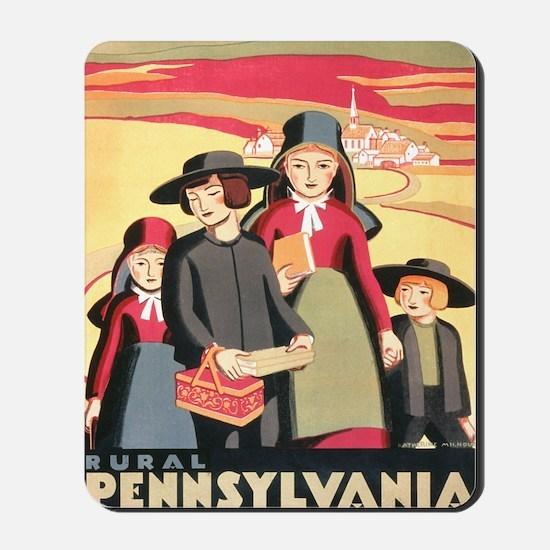Amish Mousepad