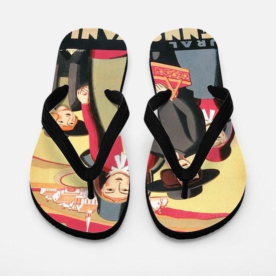 Amish Flip Flops