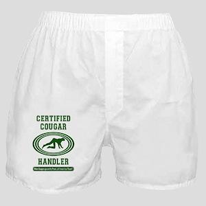 COUGAR_HANDLER_5x3rect_sticker Boxer Shorts