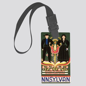 Amish Large Luggage Tag