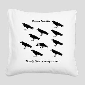tshirtTRAN Square Canvas Pillow