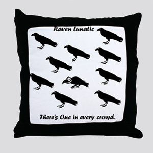tshirtTRAN Throw Pillow
