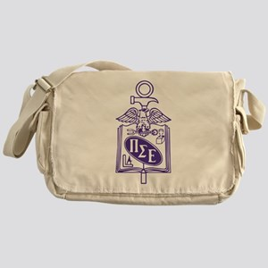 Pi Sigma Epsilon Badge Messenger Bag