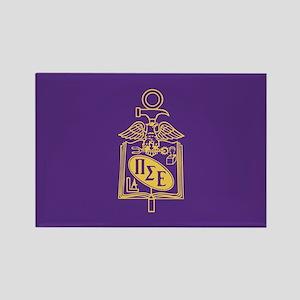 Pi Sigma Epsilon Badge Rectangle Magnet