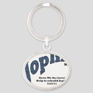 Joplin7 Oval Keychain