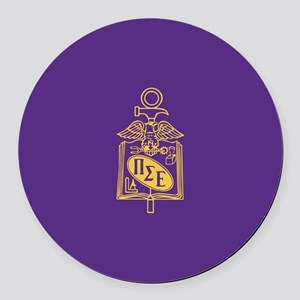Pi Sigma Epsilon Badge Round Car Magnet