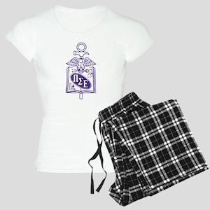 Pi Sigma Epsilon Badge Women's Light Pajamas