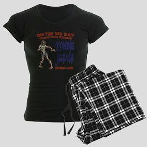 zombie-jesus-LTT Women's Dark Pajamas
