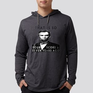 Abe Lincoln Long Sleeve T-Shirt