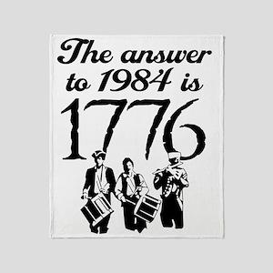 1776 Throw Blanket