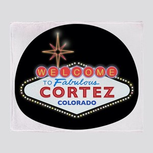 CORTEZ LIGHT Throw Blanket