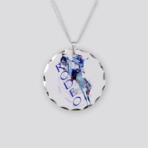 rodeo Necklace Circle Charm