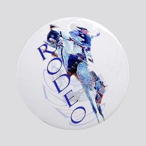 rodeo Round Ornament