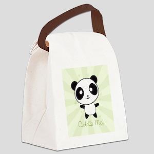 Cuddle Me Canvas Lunch Bag