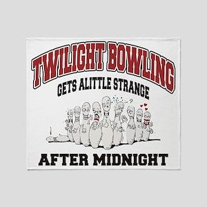 bowling79light Throw Blanket