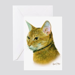 Abyssinian  Greeting Card