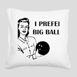 bowl75light Square Canvas Pillow