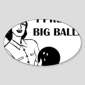bowl75light Sticker (Oval)