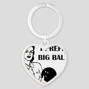 bowl75light Heart Keychain