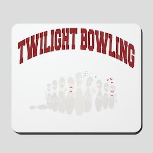 bowling79black Mousepad