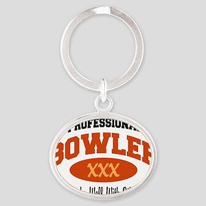 bowl70light Oval Keychain